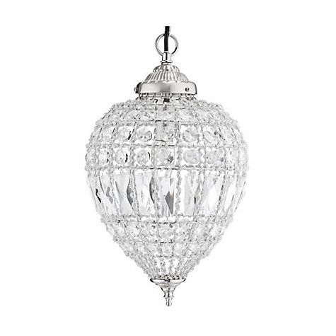John Lewis & Partners Dante Small Ceiling Light, Clear ...
