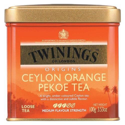 Twinings Tea Loose Orange Pekoe Case Of 6 3 53 Oz Twinings Tea Twinings Orange Pekoe Tea
