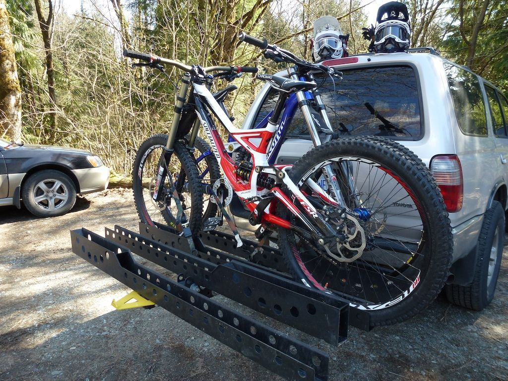 Post Your Custom Bike Racks Pinkbike Forum Custom Bikes Diy