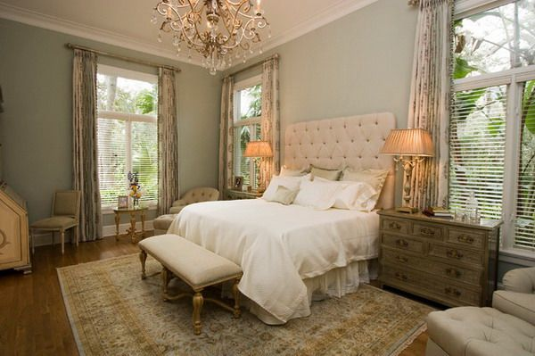 Traditional Master Bedroom Ideas With Leather Bed Furniture And Chandelier Home Pinterest Bedrooms
