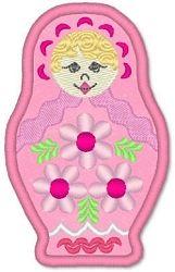 Russian Doll Applique- Lynnie Pinnie