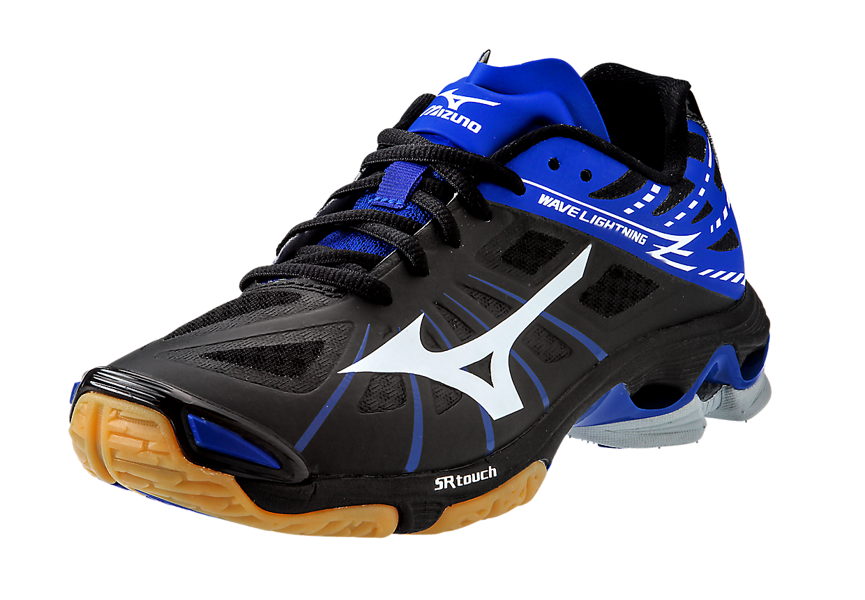 Mizuno Wave Lightning Z Black Royal Volleyball Shoes Volleyball Outfits Sporty Shoes