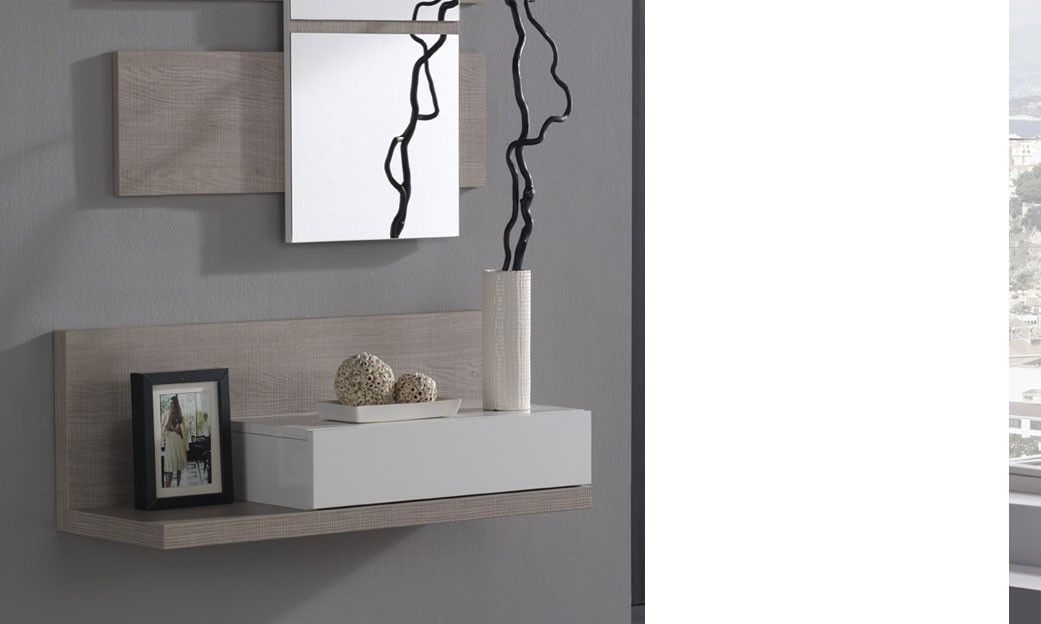 meuble d 39 entr e avec miroir contemporain ingres d co pinterest miroir contemporain. Black Bedroom Furniture Sets. Home Design Ideas