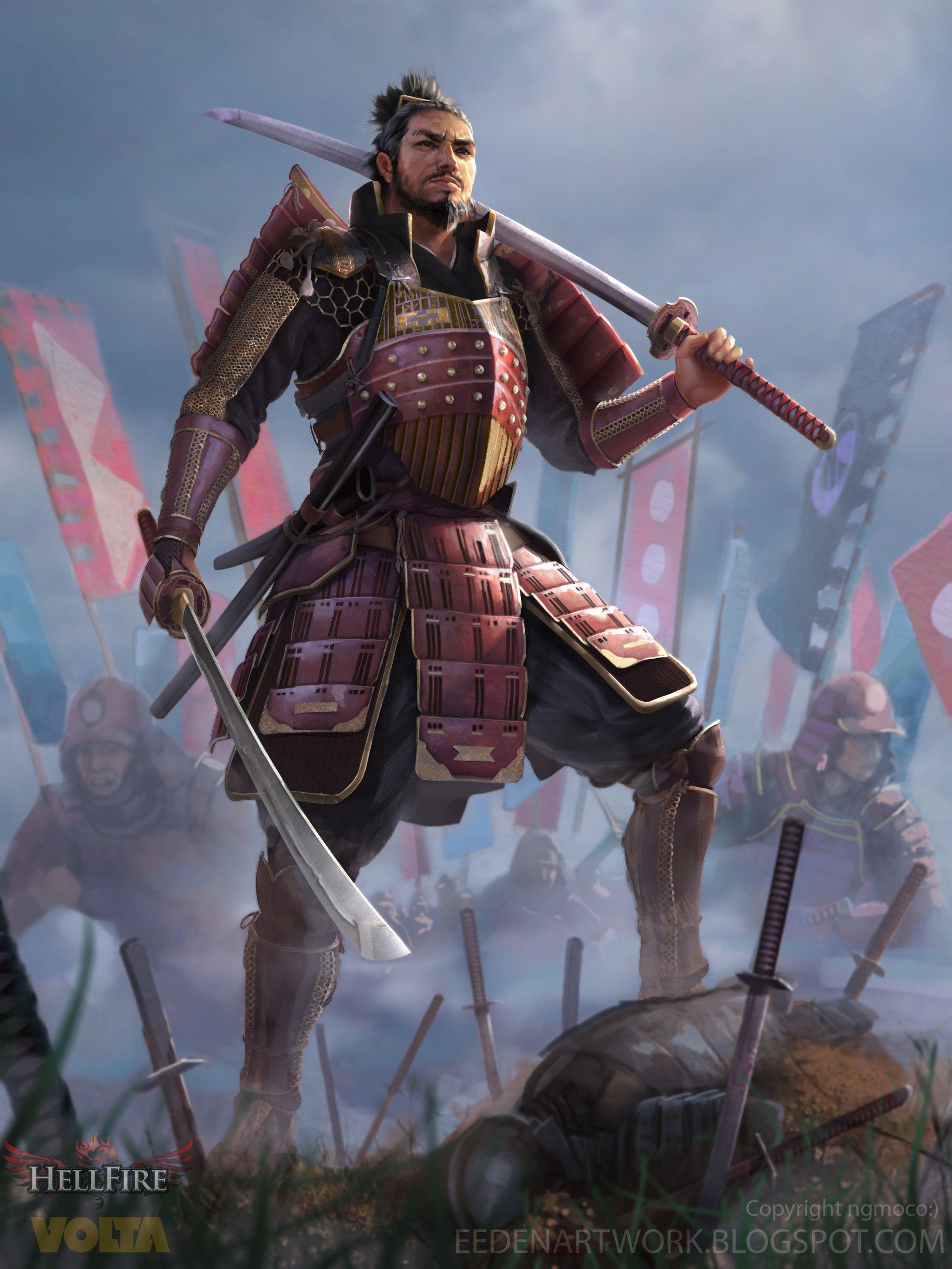 Kensei - Enemy Type in 2020 | Japanese fantasy, Samurai