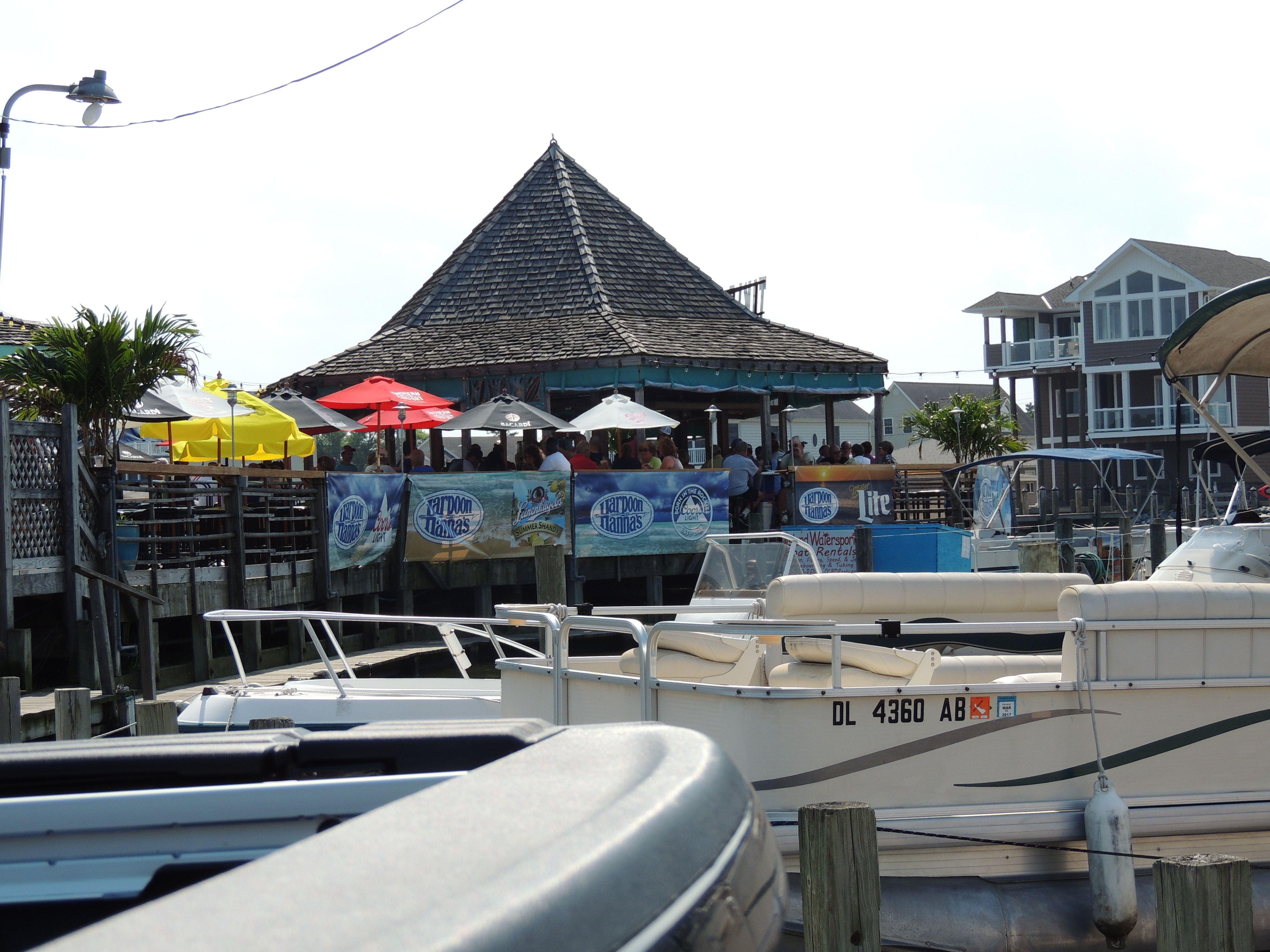 Tiki Bar Harpoon Hanna S Ocean City Maryland Ocean City Tiki Bar