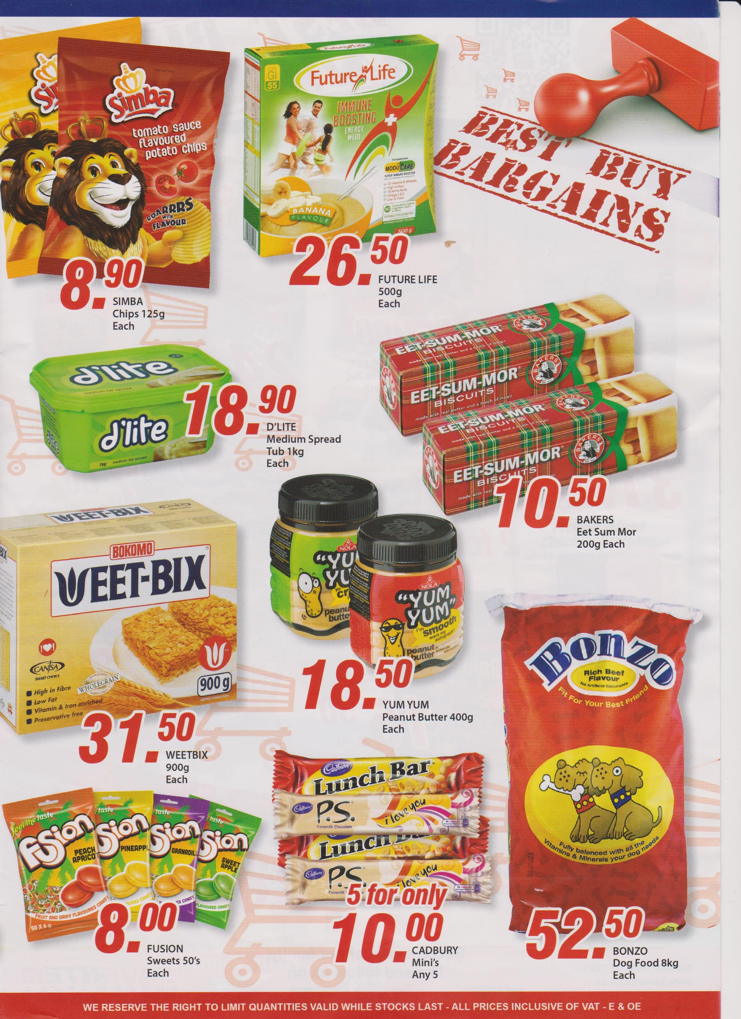 27th February specials for the week from #saveritesupermarketyorkstreet. #groceries #supermarket #Essentials