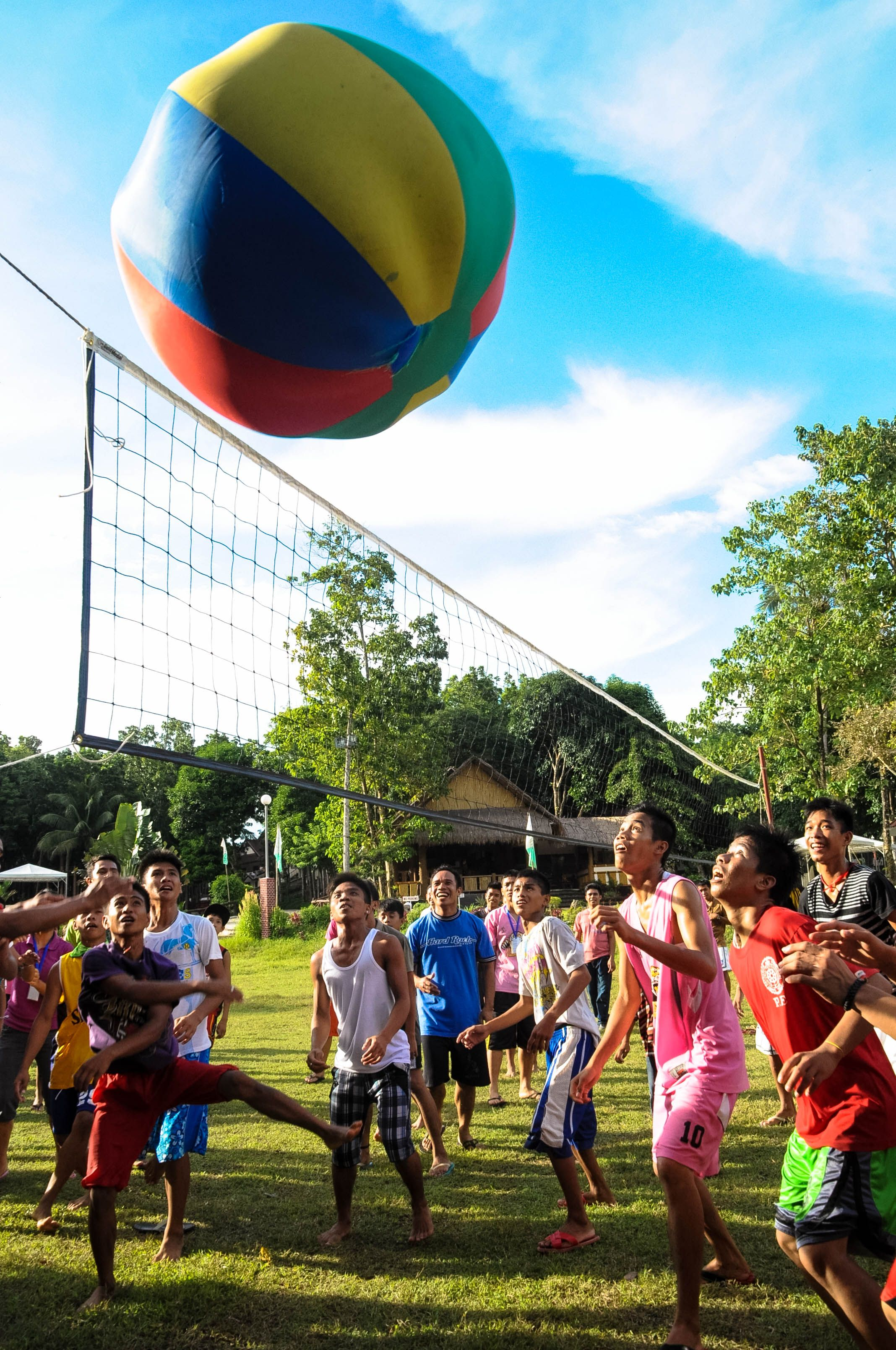 Ever Tried Playing Big Ball Volleyball Try It With Friends At Goducate Training Center Iloilo Gtc Musttry Visitus Goducate