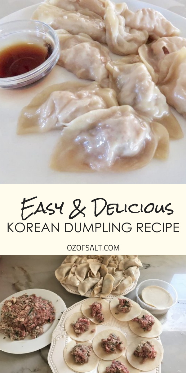 Easy and delicious korean dumpling recipe. Make the perfect meal for your friends and family. A gre