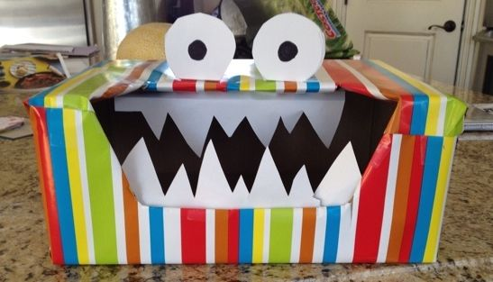 17 Best images about Farrells monster boxes – Valentine Card Box