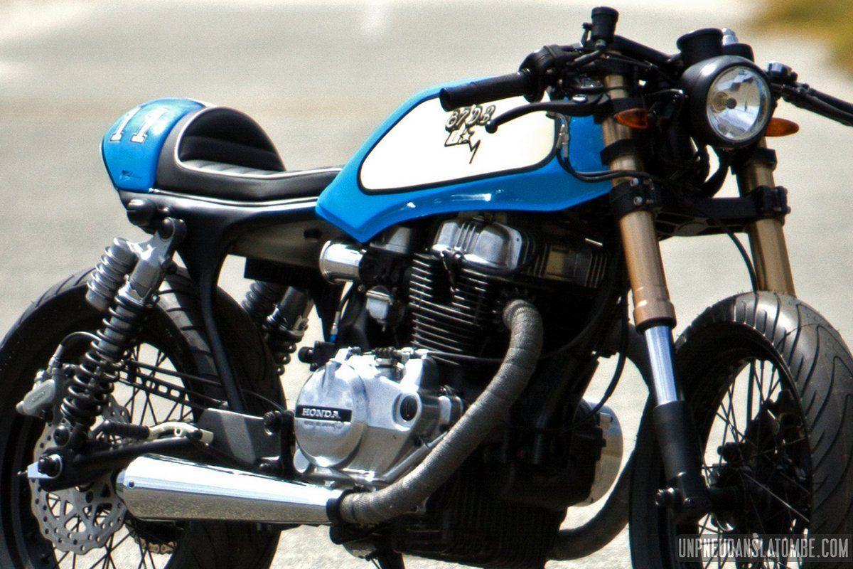 une honda cb 400 n cafe-racer, 1ère prépa signée 87 db design
