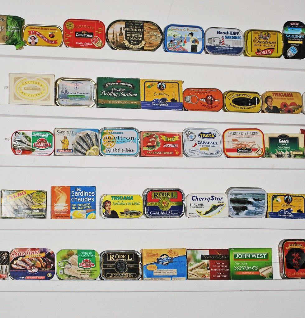 sardine tins tins of fish pinterest