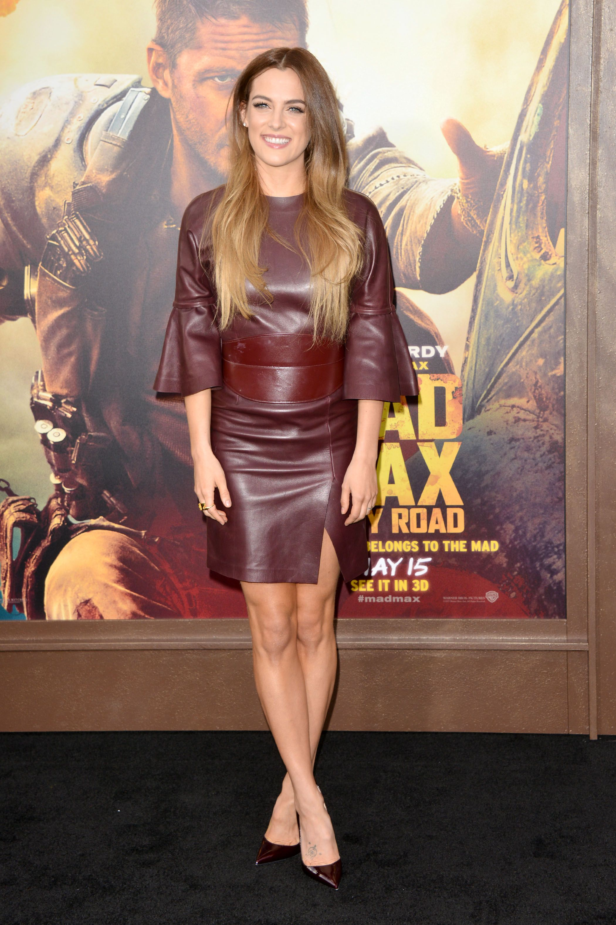 Riley Keough in awesome leather dress | Riley Keough | Pinterest ...