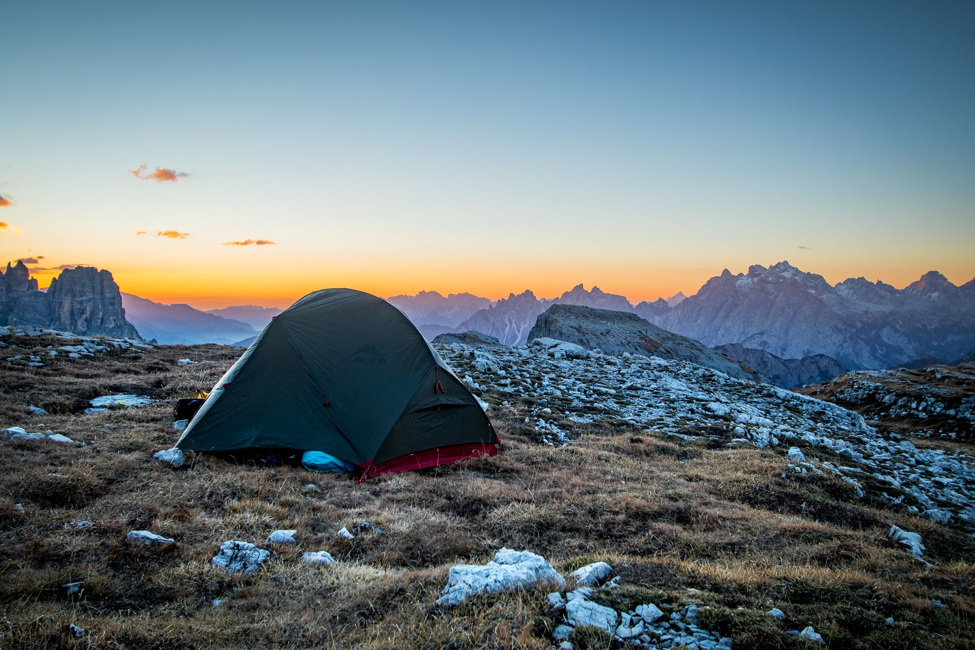Cheesy Picture Of Our Tent With Images Dolomites Good Morning