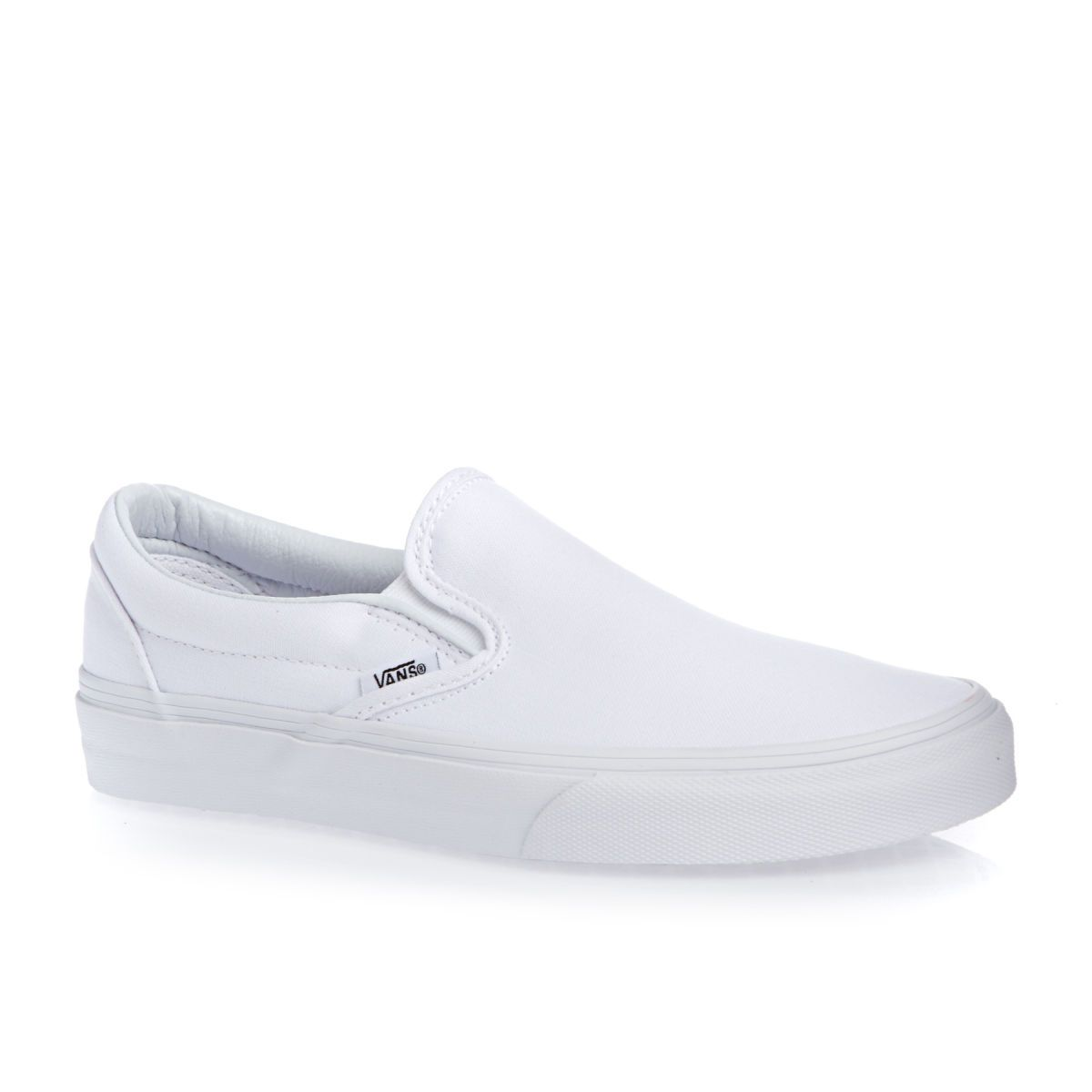 59e4b4ec2691 Vans Classic Slip-on Shoes True White