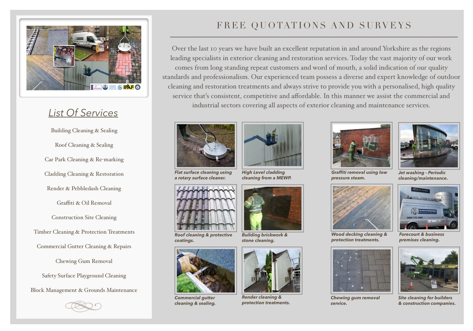 Building Cleaning & Sealing Roof Cleaning & Sealing Car