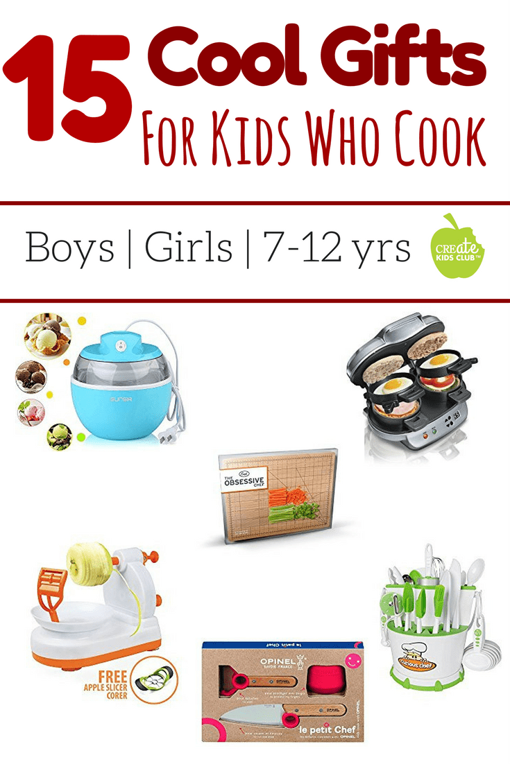 15 Best Gifts For Young Cooks Has Great Gift Ideas For The Budding Chefs In Your Life This Kids Gift Gui Cool Gifts For Kids Fun Holiday Gift Gifts For Cooks