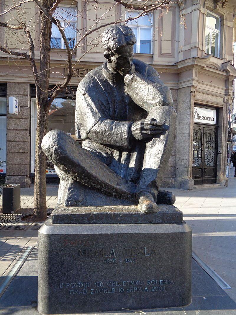 Nikola Tesla Wikipedija Zagreb Croatia Nikola Tesla Zagreb