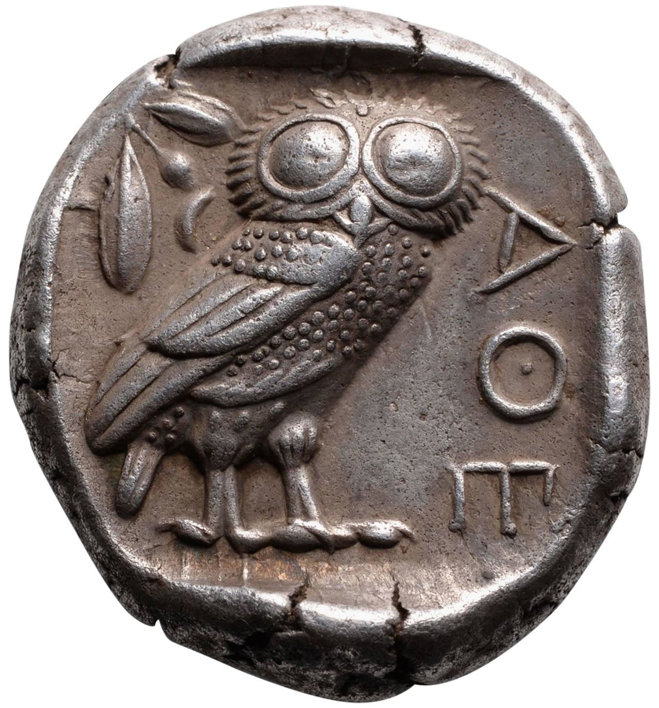 Rare Ancient Coin Ancient Athens Greek Silver Drachm Coins & Paper Money Atena Greece Owl Drachma The Latest Fashion Coins: Ancient