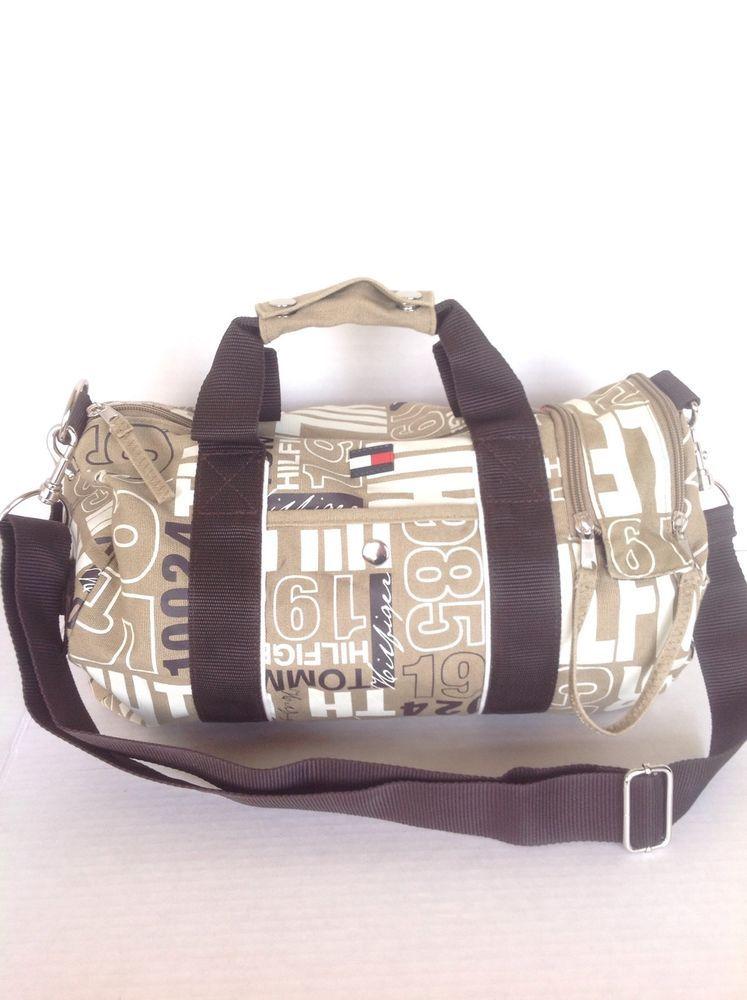 STORES.EBAY.COM CALIFORNIAUNIQUEBOUTIQUE Tommy Hilfiger Bag Purse Designer  Fashion Unisex Multi Pockets Canvas Hip Chic  TommyHilfiger  Hobo 8072c35f1ae00