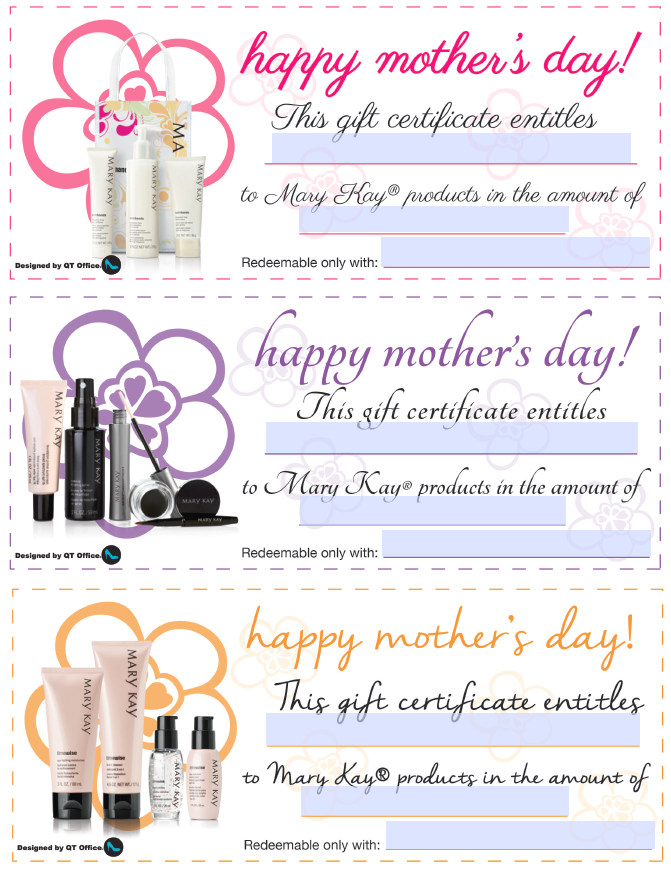 Mary kay mothers day gift certificates marykayalmareza mary kay mothers day gift certificates marykayalmareza yadclub Choice Image