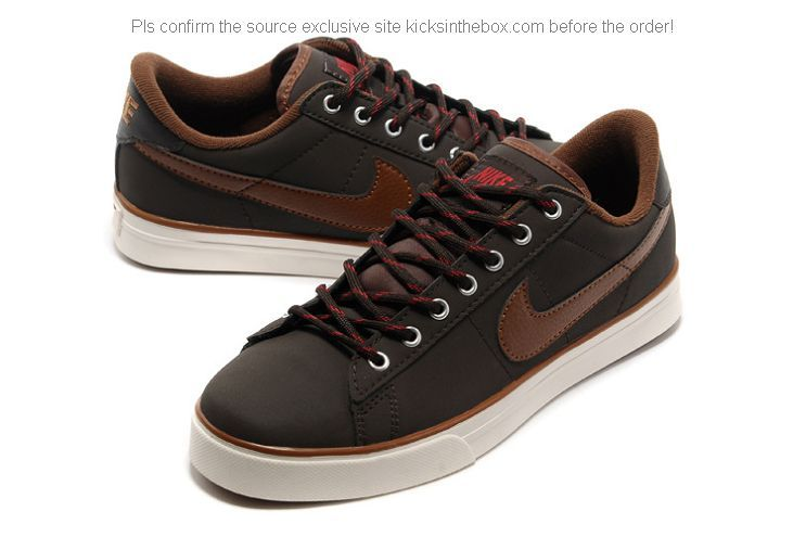 uk availability e7255 5db52 Nike Sweet Classic AP Men Shoes in Brown and Cholocate