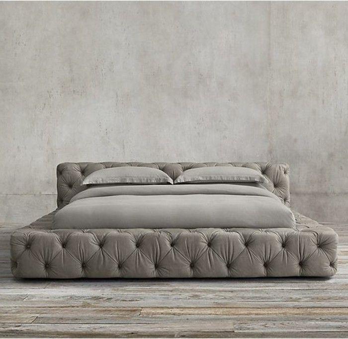 choisissez un lit en cuir pour bien meubler la chambre coucher lit pinterest. Black Bedroom Furniture Sets. Home Design Ideas