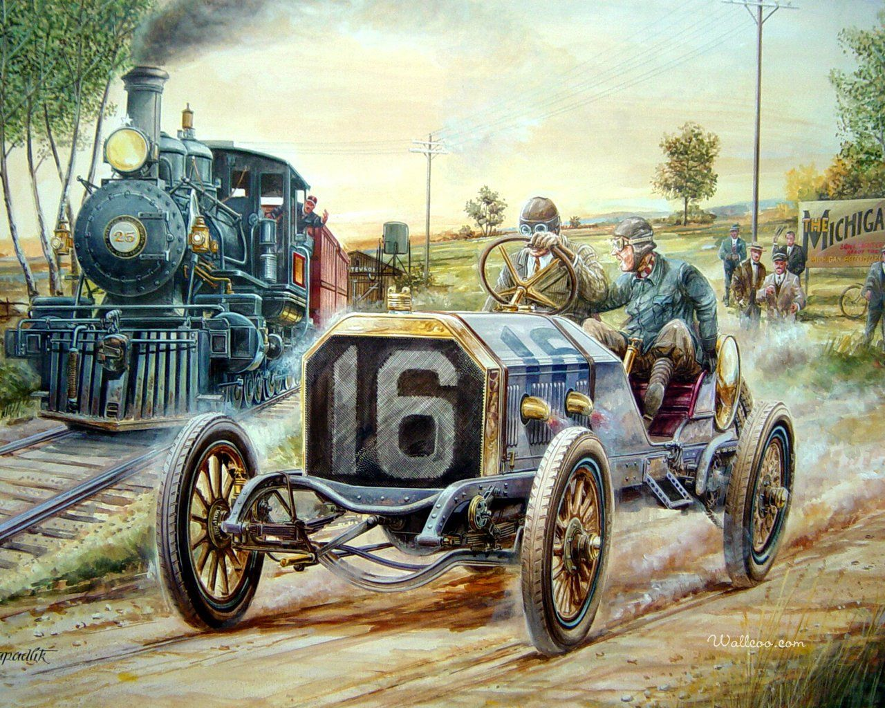Vaclav Zapadlik Classic Car Painting Art I Love Pinterest