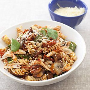 Fusilli Michelangelo with Roasted Chicken | MyRecipes.com