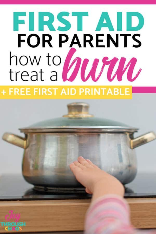 Best Tips for Treating Burns in Kids: First Aid Essentials for Parents #kidsnutrition