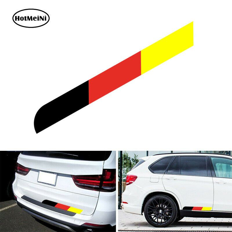 Large Germany Flag Sticker Stripe Decal Vinyl For German Car Body Bumper Side Luckystickers ในป 2020