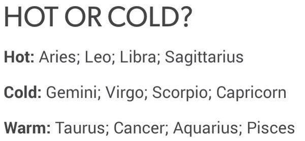 Capricorn man hot and cold
