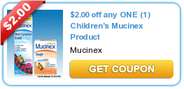 picture relating to Mucinex Printable Coupon called $2.00 off any A single (1) Childrens Mucinex Item The