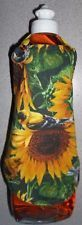 DISH SOAP APRON KITCHEN SUNFLOWER BIRD YELLOW GREEN