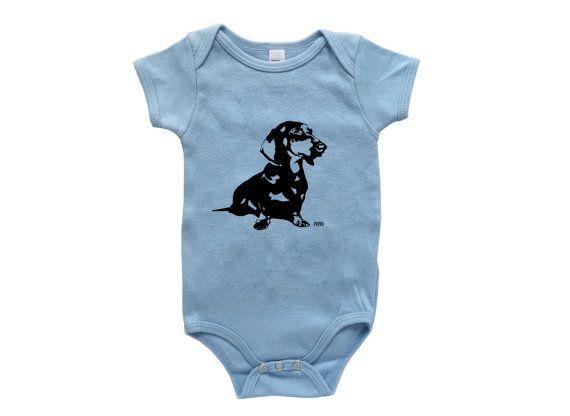 5c3dbb8c6 Dachshund Baby Clothes Doxie Dachshund by MONOFACESoCHILDREN Baby Dachshund,  Dog Baby, Long Haired Dachshund