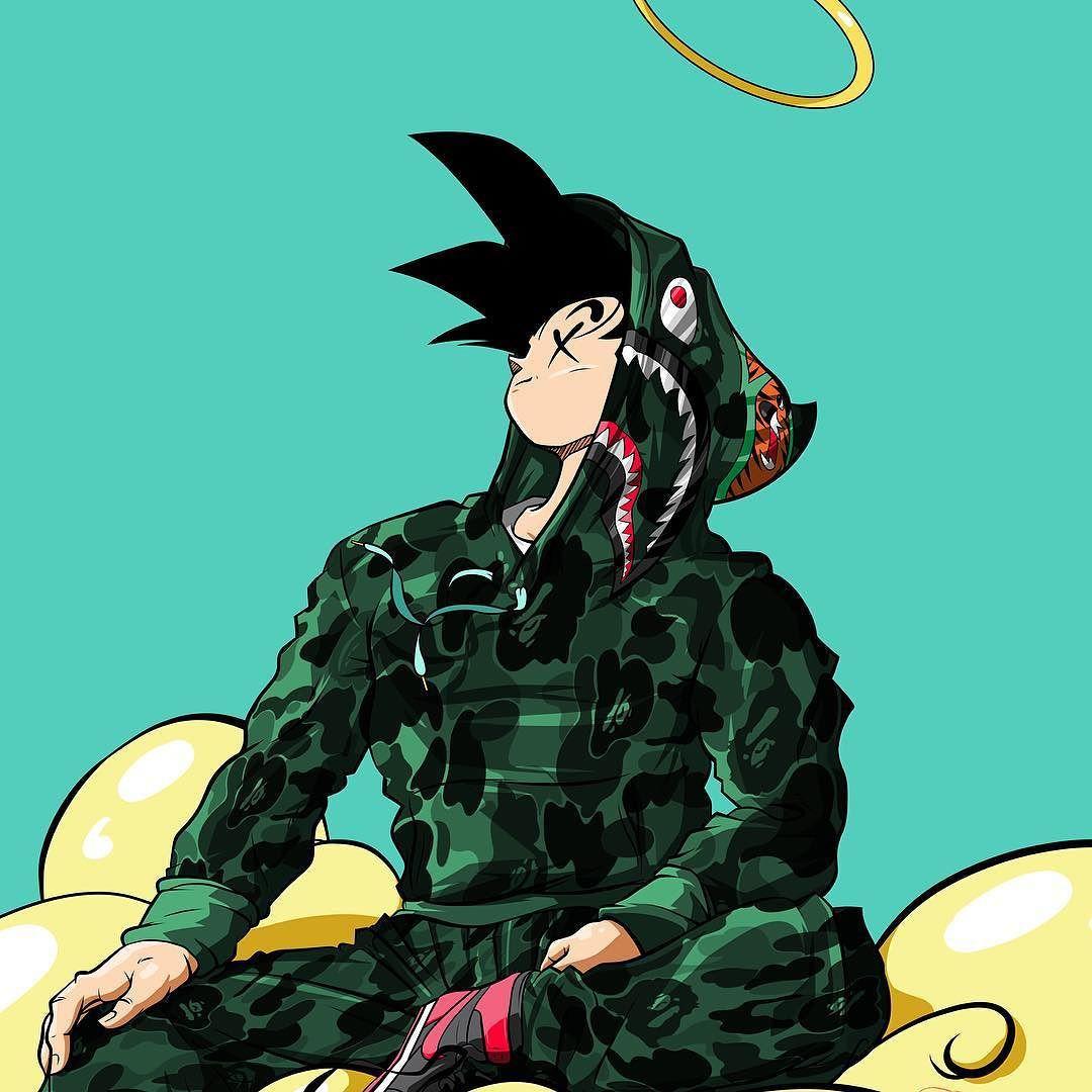 Bape Cartoon Black 1080 1080 X Dope Supreme