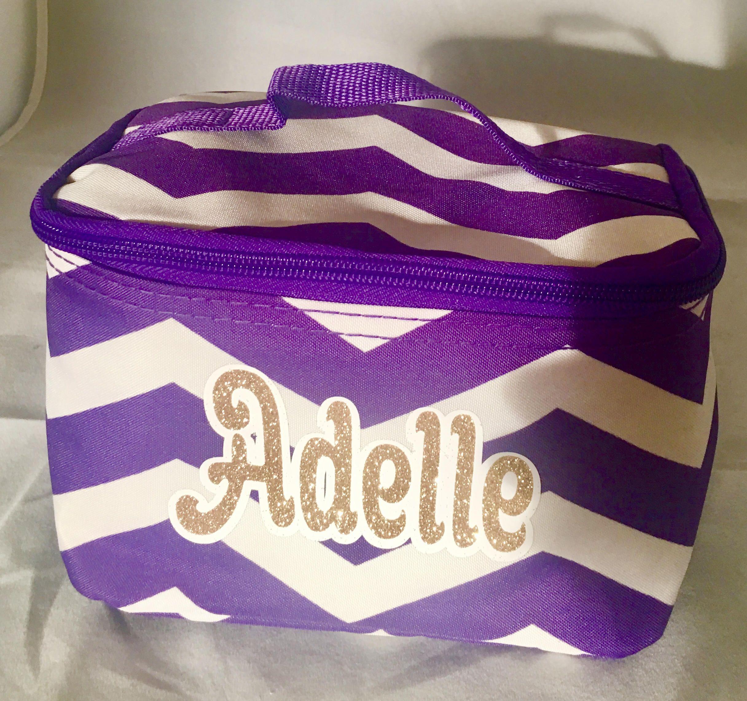 Cosmetic bag personalized, Varsity/JV cheer gifts, cheerleaders ...