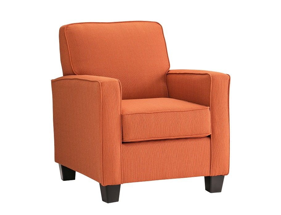 Slumberland Accent Chairs With Arms.Slumberland Wingate Collection Orange Accent Chair Design