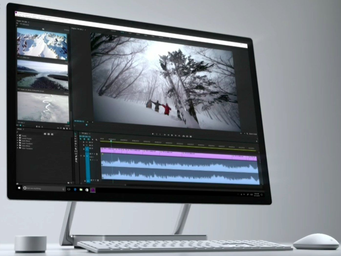 Microsoft Announces Its First Ever Desktop PC The Surface Studio MSFT