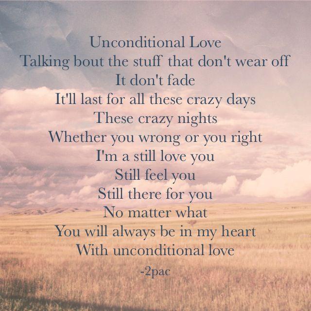 2pac R I P | ℓσνє мє ℓιкє    | Unconditional love tupac