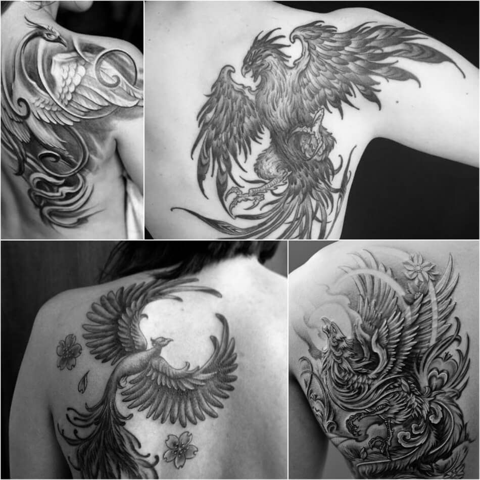 101 gorgeous phoenix tattoo designs to try in 2019 - 950×950