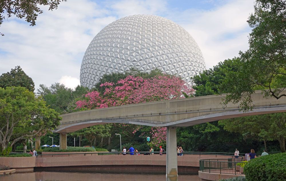 Best Times to Visit Disney World in 2017 & 2018 - Epcot Spaceship Earth