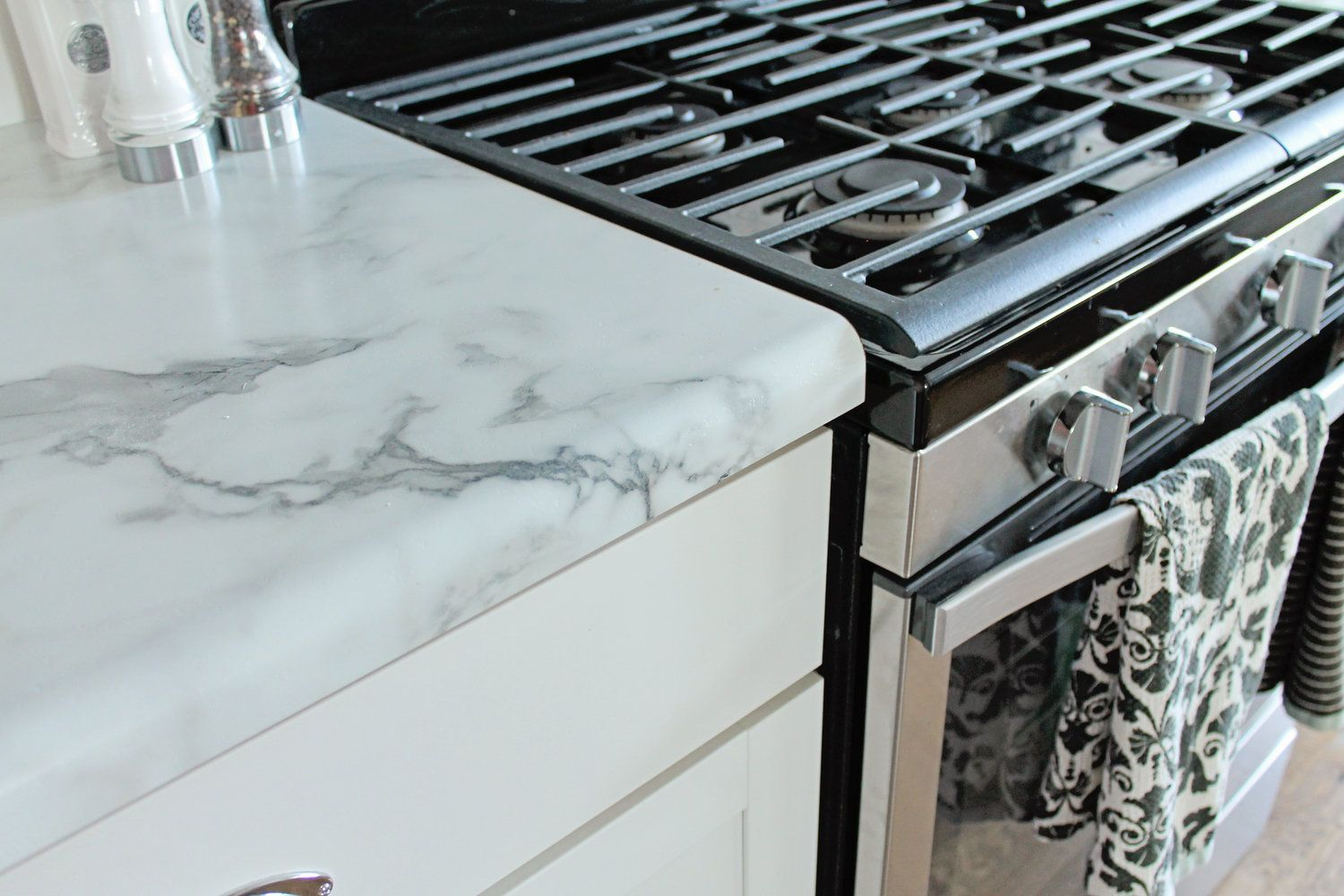 Calcutta Marble Laminate Countertop Why We Chose And Love Our Formica Countertops Kitchens
