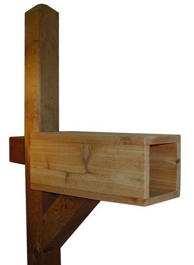 Residential Mailboxes Wood Cedar Newspaper Post Wooden Mailbox Modern Mailbox Wood