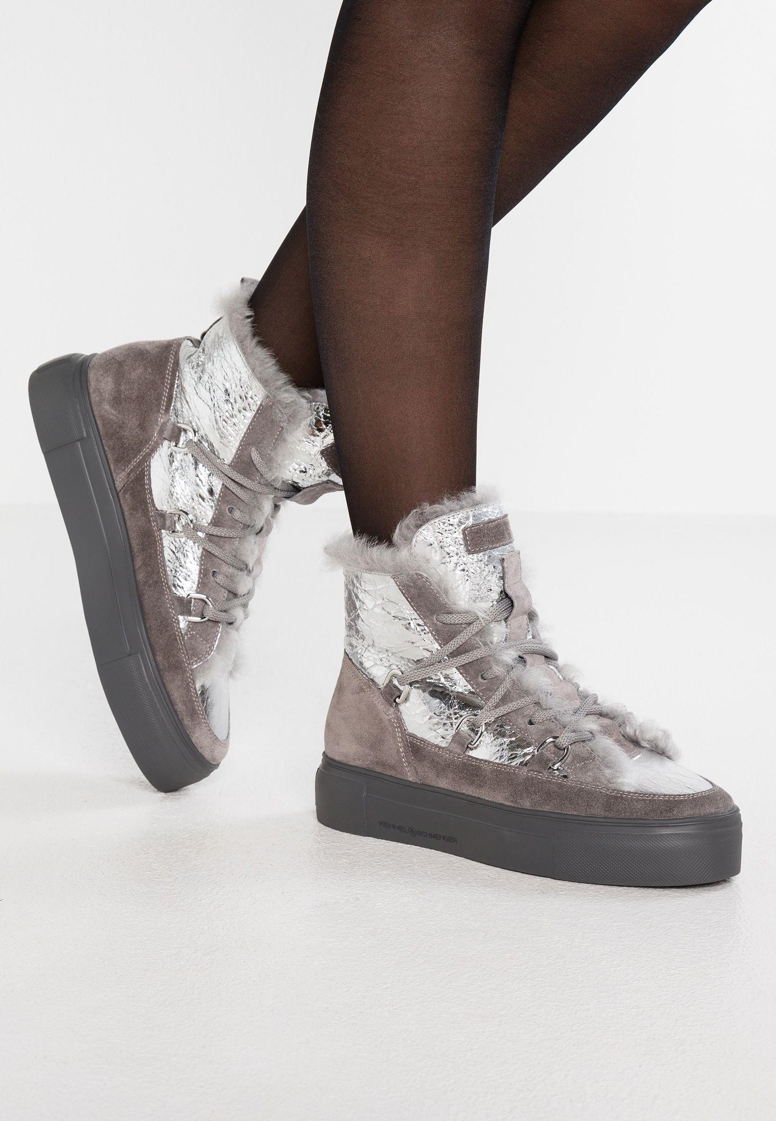 excellent quality presenting fashion BIG - Ankle Boot - silver/grau @ Zalando.de 🛒 | mode in ...