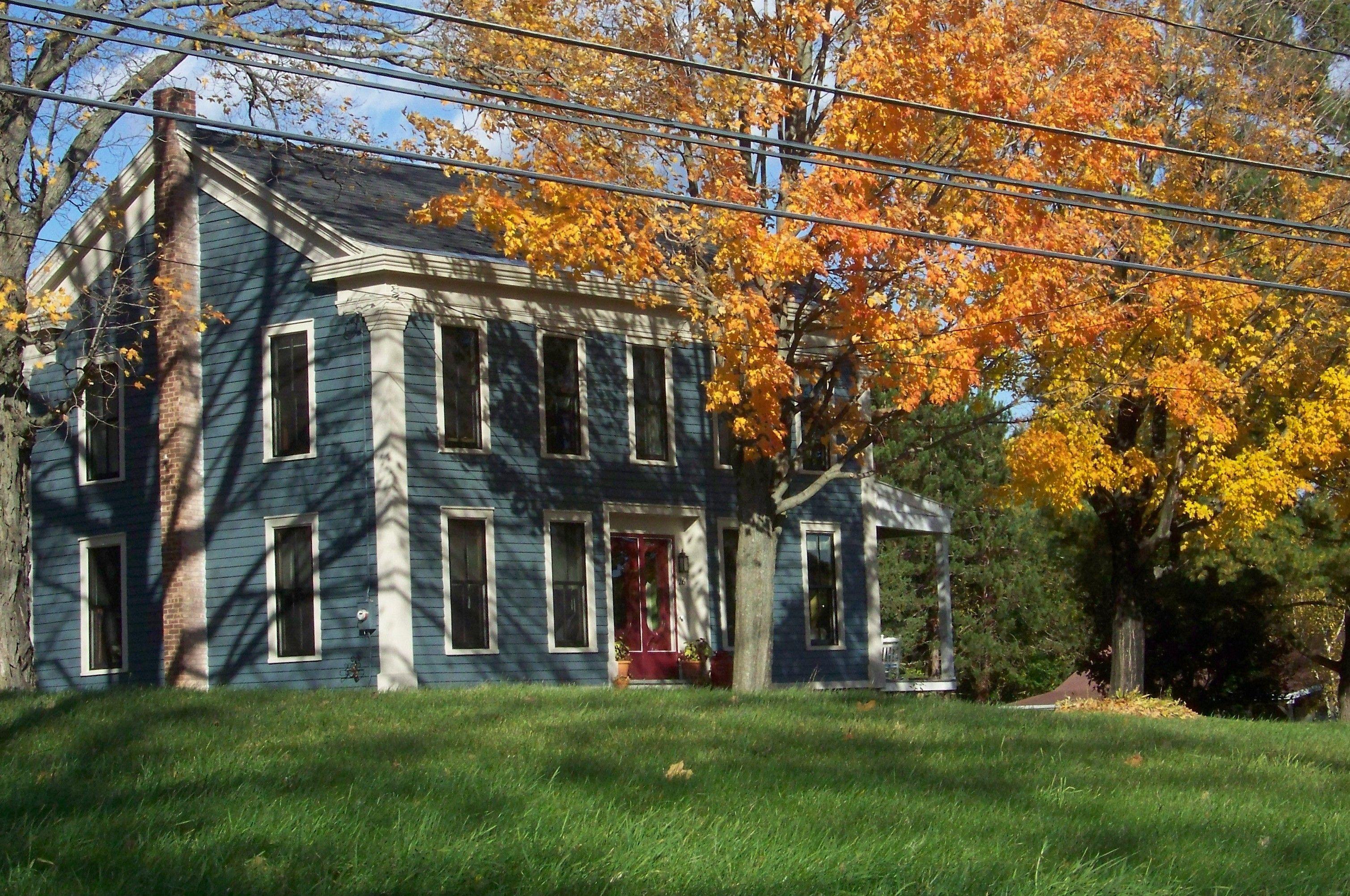 Exterior home colors farmhouse - House Farmhouse And Exterior