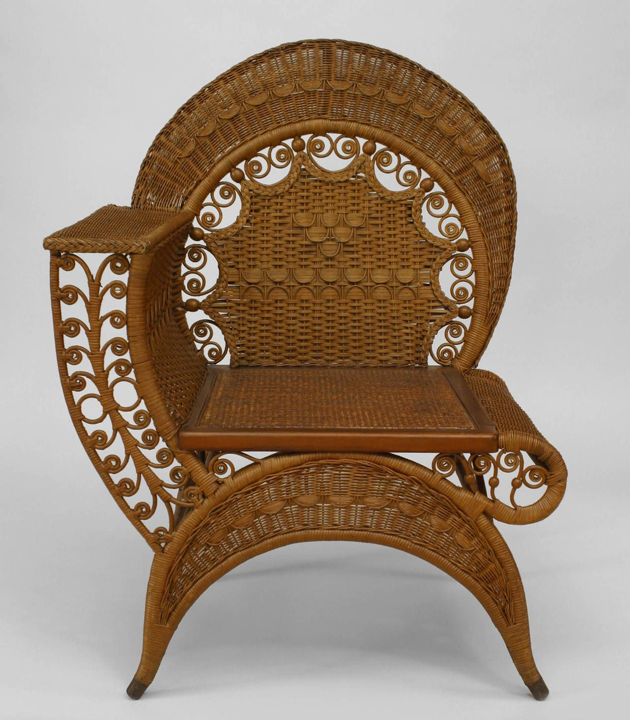Outdoor Dream Chair Fy 19th Century American Wicker Photographer 39s By