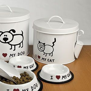 Collectible Disney Cookie Jar Gallery Liveabout >> Love My Cat Canister Set Canister Sets Canister Sets Bowl Set