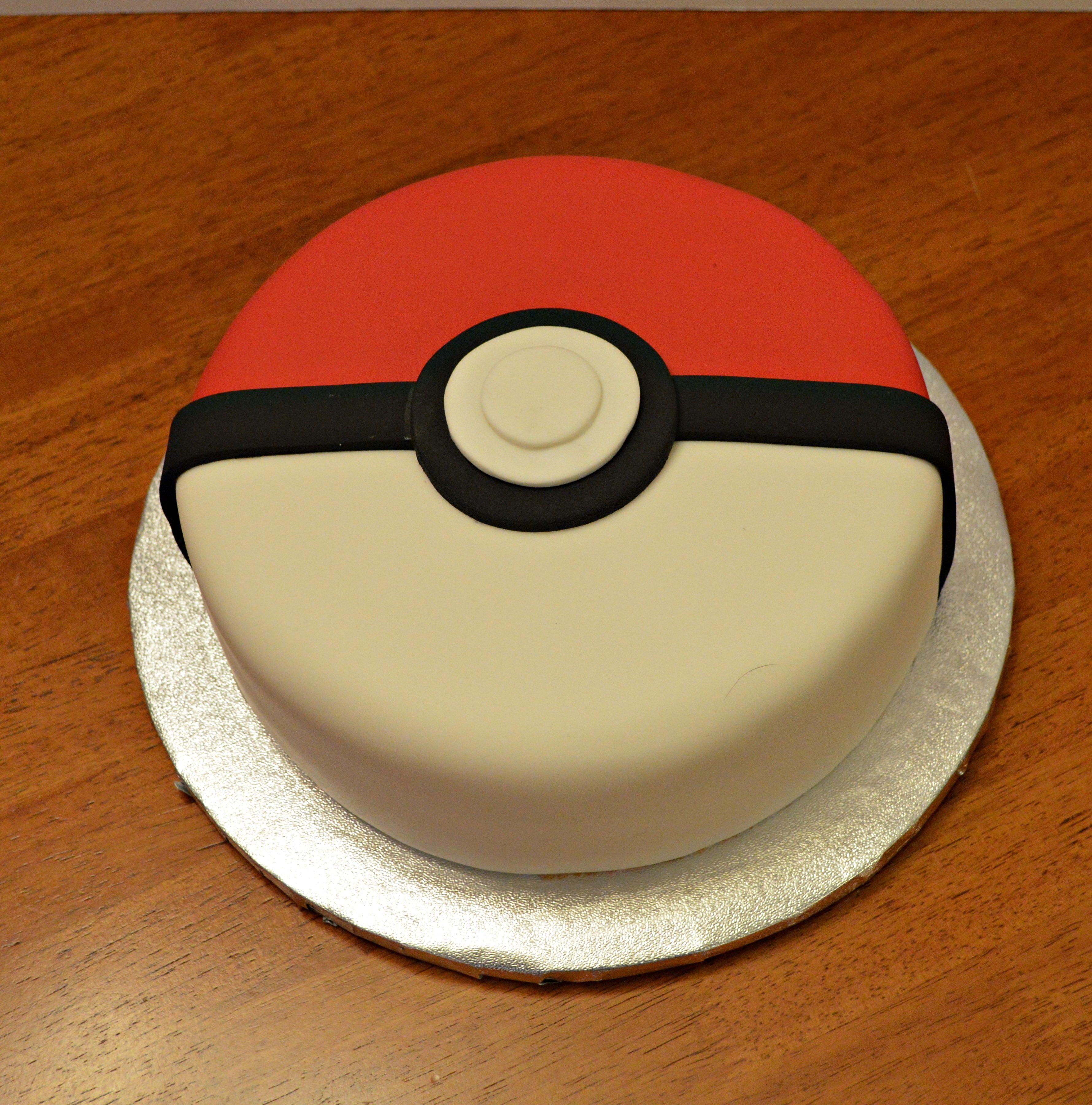 Pokemon Ball Cake Pikachu Cake Kids Cake