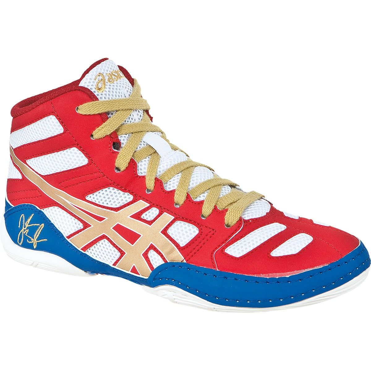 796ac9e7edb Asics JB Elite GS Jordan Burroughs Youth Wrestling Shoes
