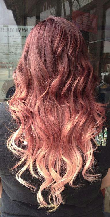 Strawberry Blonde Ombre Hair Google Meklesana Dyed Hair Hair